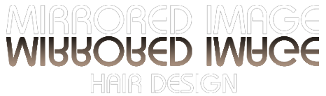 Mirrored Image Hair Design